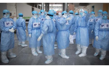 Over 1,700 medics infected in China