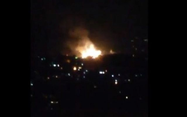 Israeli attack on Damascus kills 7 fighters: monitor