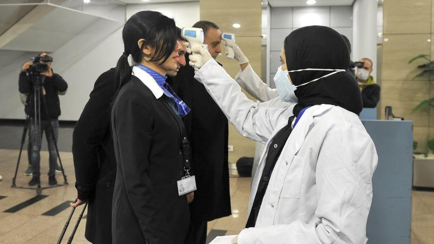 Egypt confirms first coronavirus case in Africa