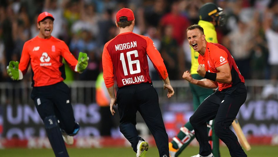 England win T20 thriller by two runs against South Africa