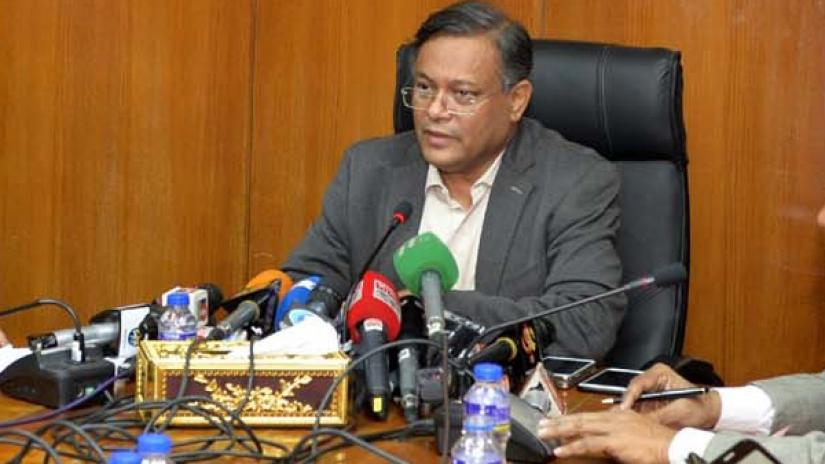 Khaleda can apply for parole only after acknowledging crimes: Hasan