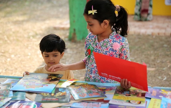 2,194 books hit Amar Ekushey Book Fair so far