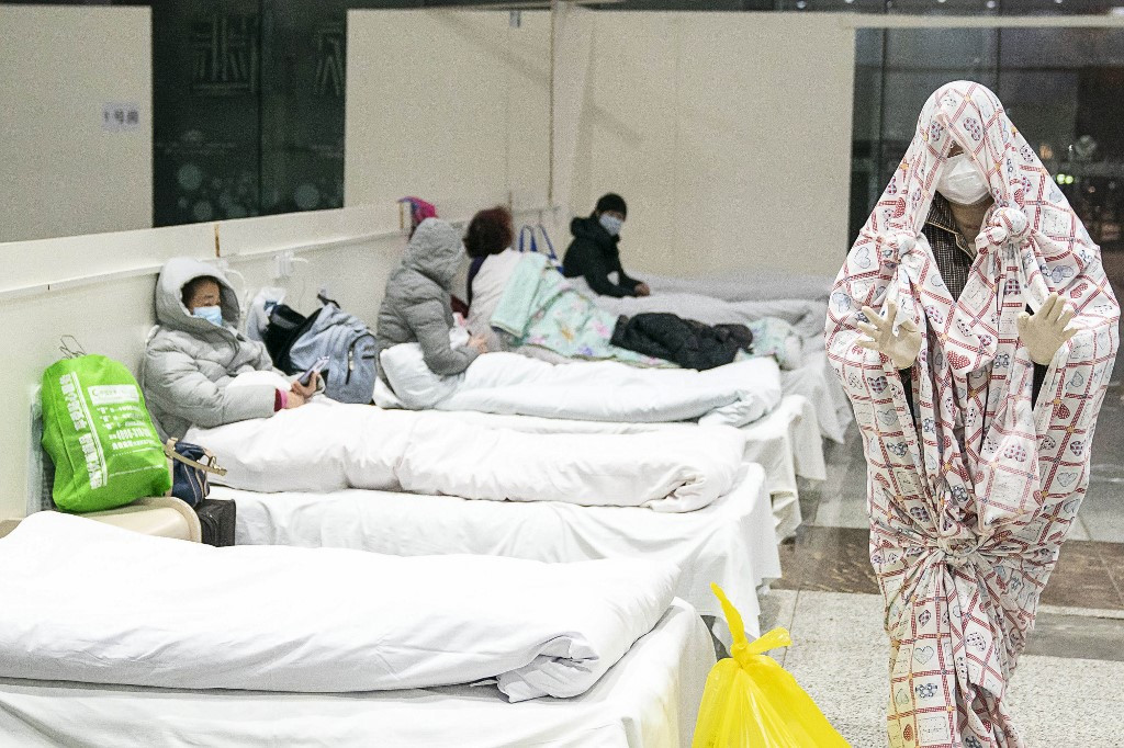 China's coronavirus death toll mounts to 1665