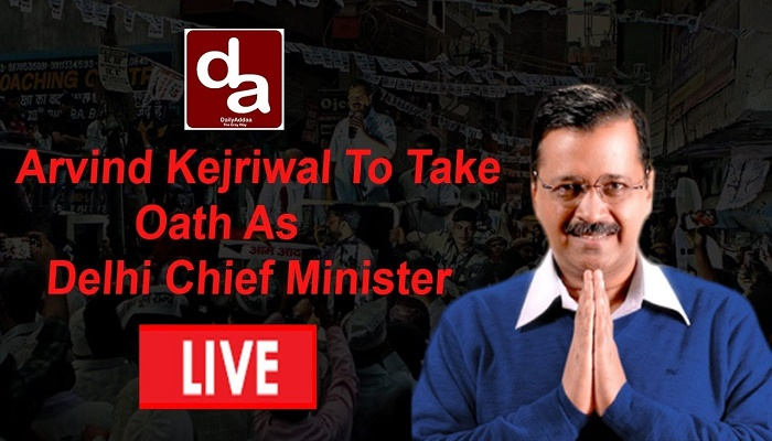 Arvind Kejriwal takes oath as Delhi Chief Minister today