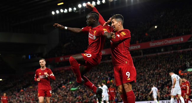 Mane strikes as Liverpool beat Norwich to open up 25-point lead
