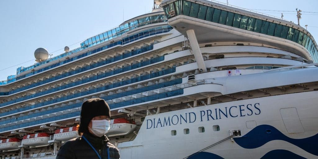Coronavirus cases on Japan ship rise to 355