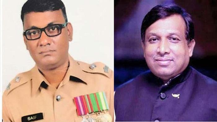 Inspector Saiful Amin gets bail in JS whip Shamsul's case