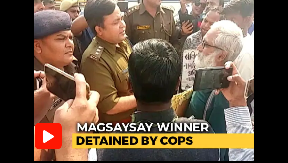 Magsaysay award winner arrested on way to Anti-Citizenship Act