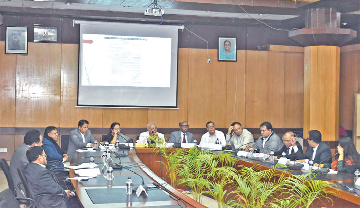 Meeting of Super Specialised Hospital of BSMMU Project