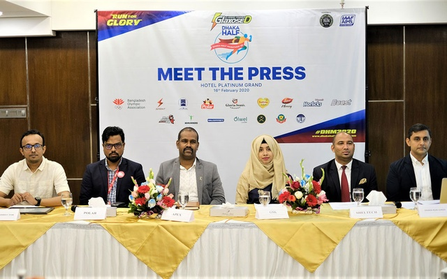Glaxose-D Dhaka Half Marathon on February 28