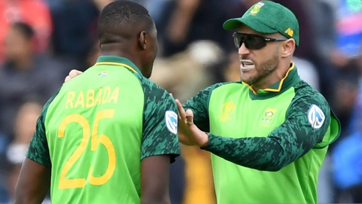Du Plessis, Rabada back in South African squad