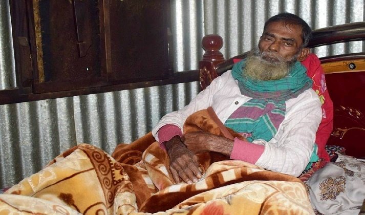 Ailing Chandpur freedom fighter needs help to survive