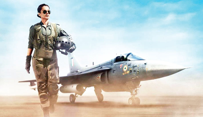 Kangana's 1st look as Air Force pilot in 'Tejas' goes viral