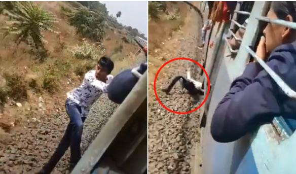 Indian Railway Minister shares horrifying TikTok video of train stunt