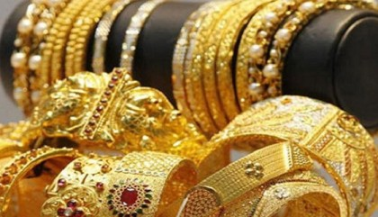 Gold prices rise again in local market
