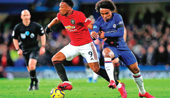Lampard asks for Chelsea fight after United defeat