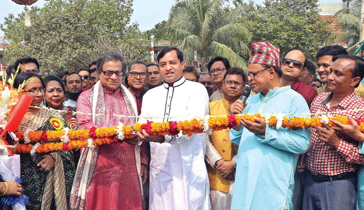 Inaugurates the Annual Cake Festival and Cultural programme