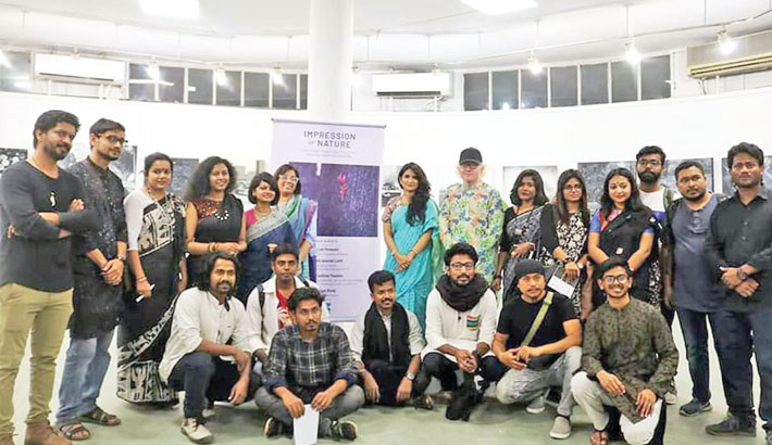 Art exhibition 'Impression of Nature' begins at Zainul Gallery