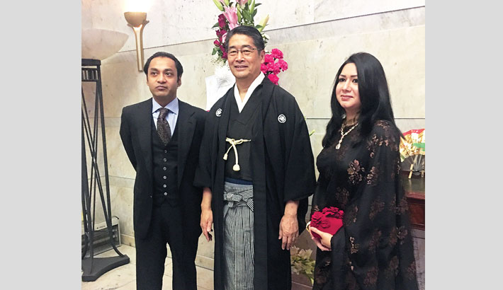 Japan  Emperor's  birthday  celebrated