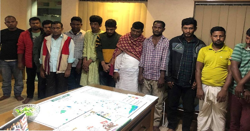 12 people arrested for gambling in Chattogram