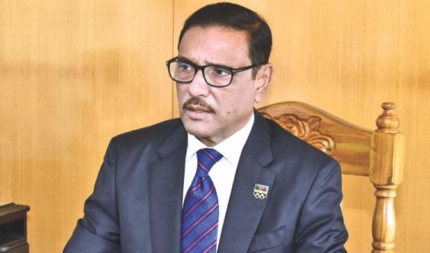 Khaleda's bail is totally a matter of court: Quader