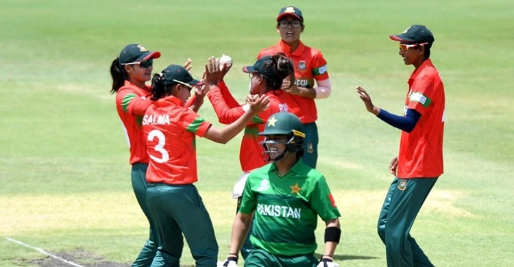 Warm-up match: Tigresses beat Pakistan by 5 runs