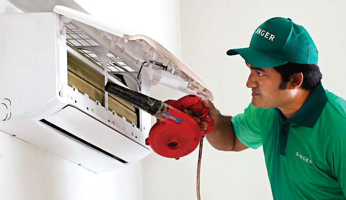 Singer offers free AC cleaning service