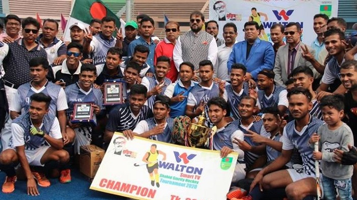 BB Hockey: Bangladesh Navy emerge unbeaten champions