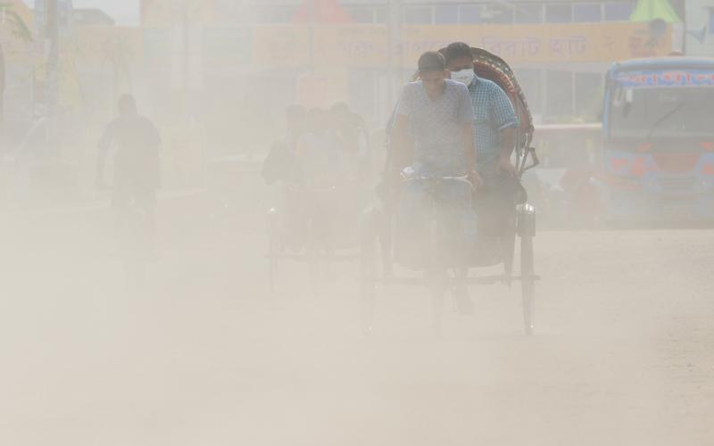 No respite from Dhaka's worsening air pollution