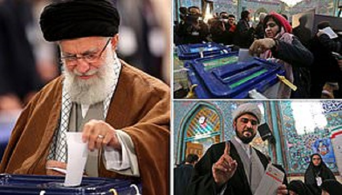 Iran hardliners set to sweep parliamentary polls