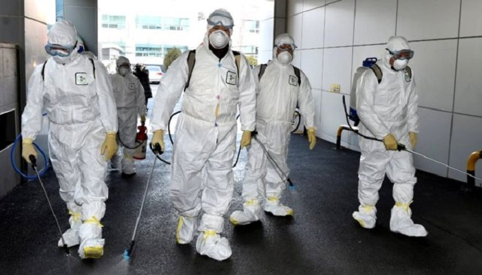 S Korea steps up measures as virus infections rise