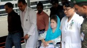 Relatives meet Khaleda Zia at BSMMU