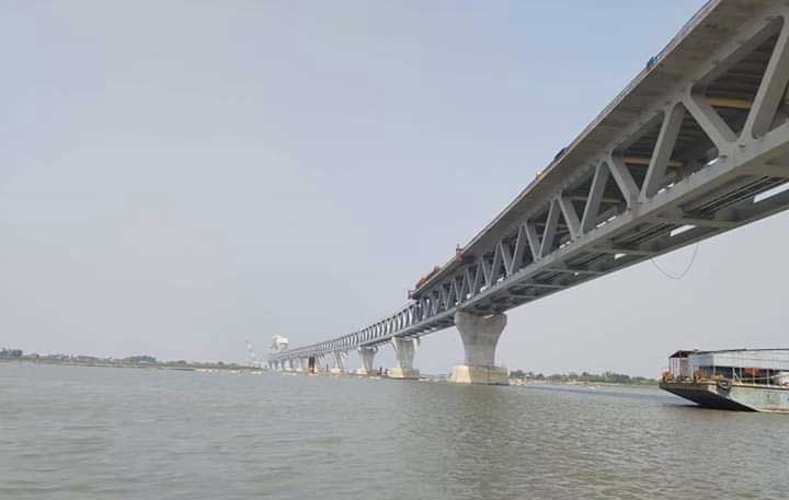 25th span of Padma Bridge installed