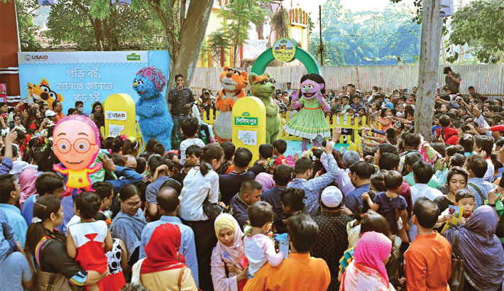 Ekushey Book Fair draws huge crowd