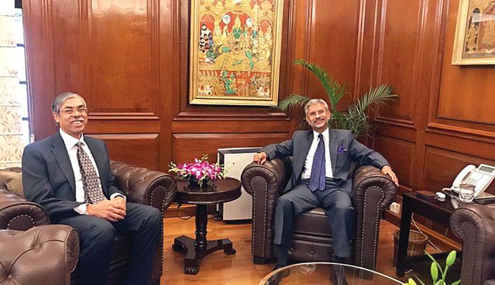 Bangladesh envoy meets Jaishankar
