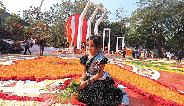 Paying tribute to the Language martyrs