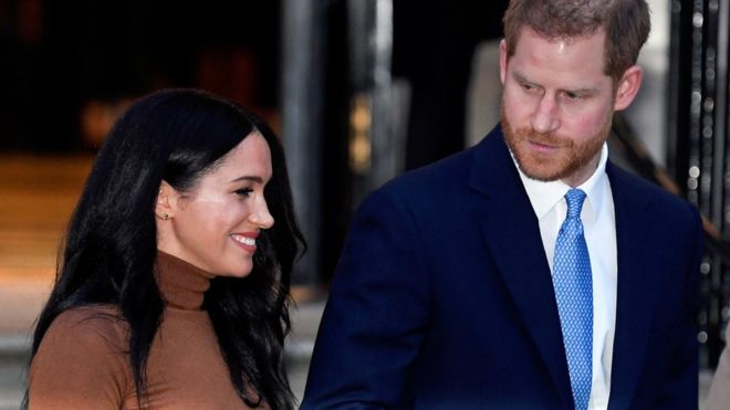 Harry and Meghan to end use of 'SussexRoyal' brand