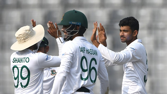Bangladesh, Zimbabwe share honour on day one in one-off Test