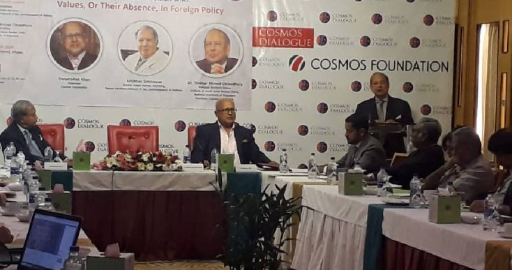 Cosmos Dialogue on Foreign Policy begins in city