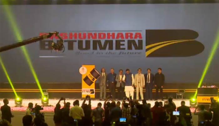 Bashundhara launches Country's first-ever pvt Bitumen Plant