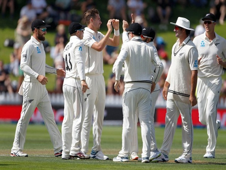 New Zealand make safe start in reply to India's 165