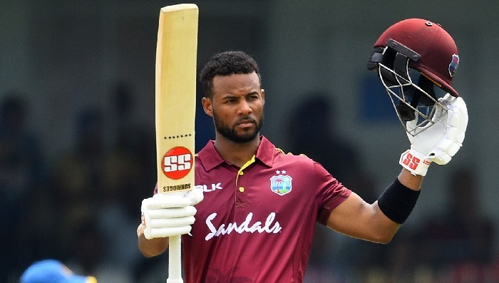 Shai Hope ton guides West Indies to 289-7 in Sri Lanka ODI