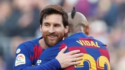 Messi scores four as Barcelona rout Eibar