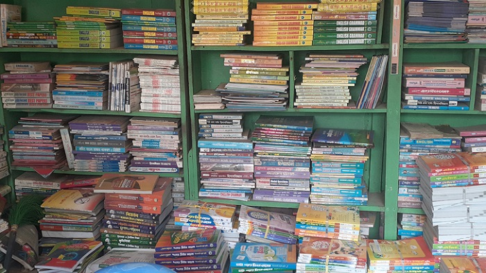 Administration indifferent to selling illegal guidebooks
