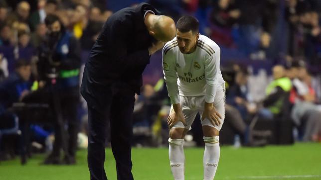 Zidane admits Hazard injury 'doesn't look good'