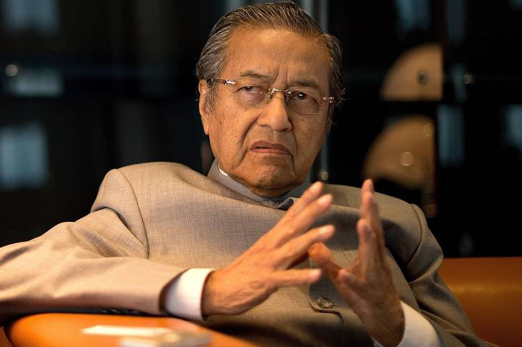 Malaysian PM Mahathir submits resignation to the king: statement