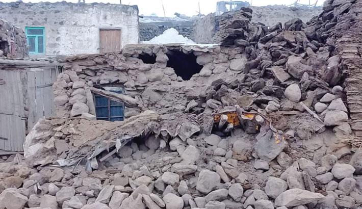 Quake in Iran kills 9 in neighbouring Turkey