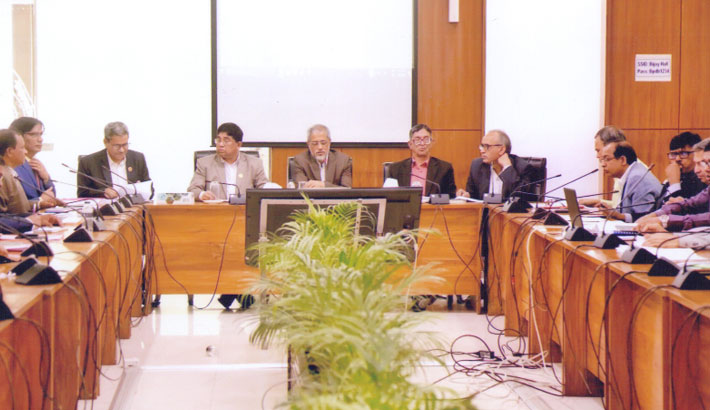 BPDB meeting on central revenue and production