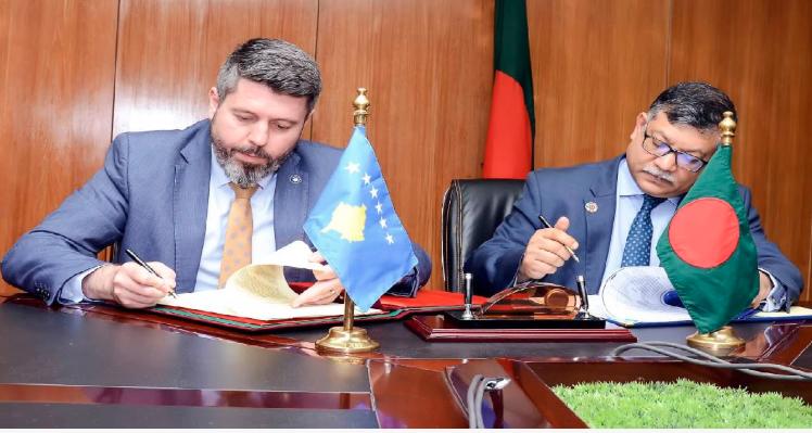 Bangladesh, Kosovo sign MoU; plan to boost bilateral ties