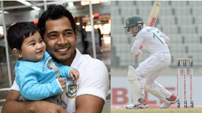 Mushfiqur Rahim dedicates his 3rd Test double-century to his son